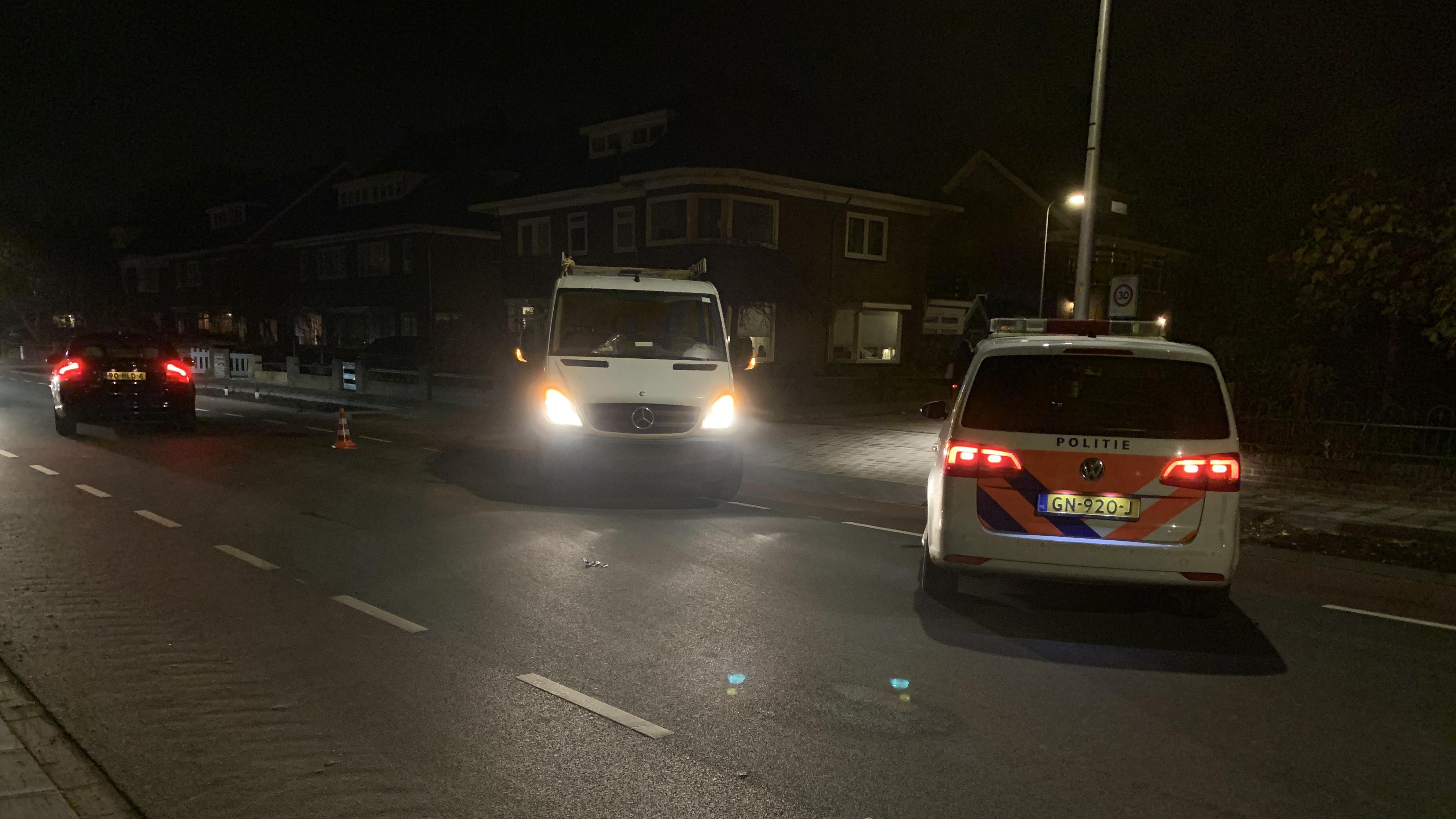 Fietser zwaargewond bij aanrijding in Deventer.