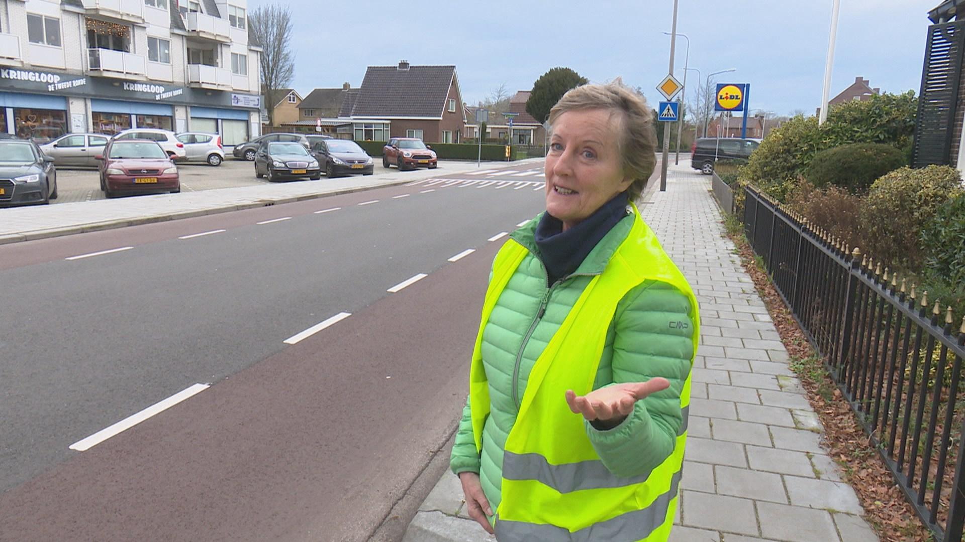 Na fataal ongeluk in Ommen durft Ella alleen nog met geel hesje de straat op.