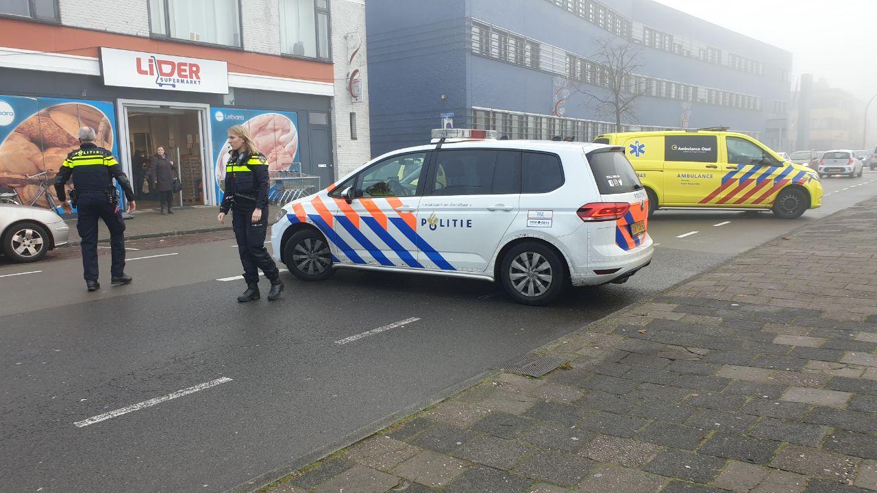 Voetgangster gewond bij aanrijding in Hengelo.