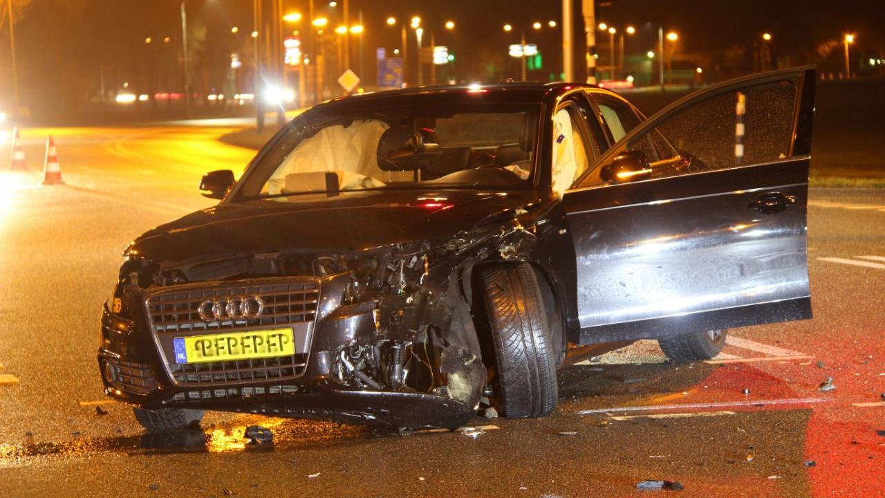 Gewonde bij ongeluk op N348 bij Raalte.