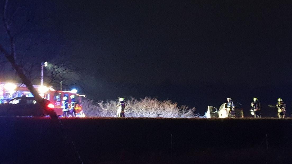 Ernstig ongeval net over de grens bij Enschede.