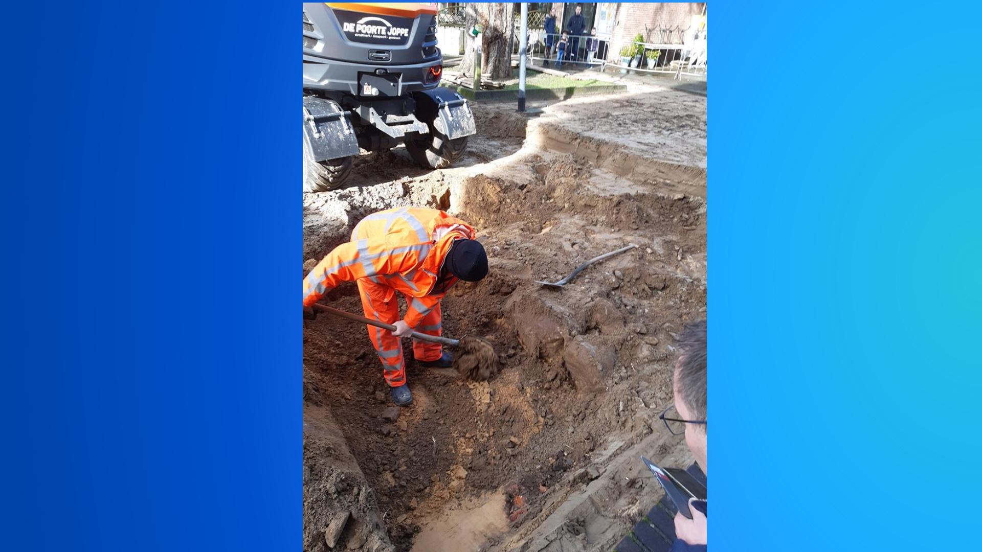 Bijzonder: resten van Romaanse Toren uit 1100 gevonden in Rijssen