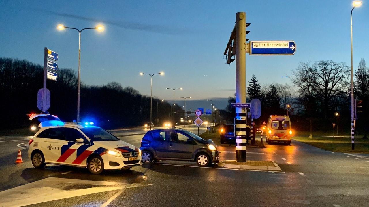 Gewonde bij ongeval op N342, één rijbaan tijdelijk afgesloten.
