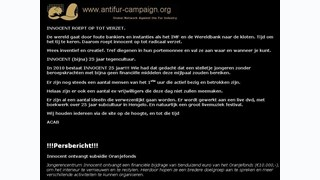Zorgen over uitingen op website Innocent