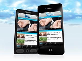 Meer dan 100.000 downloads mobiele app RTV Oost
