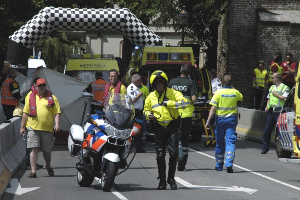 Ernstig ongeluk tijdens de Boulevard Sprint in Deventer