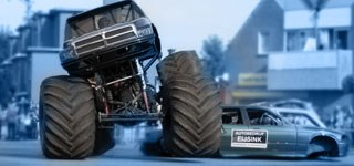 Monstertruckdrama Haaksbergen