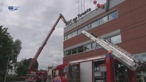 Brand in gebouw ROC Almelo