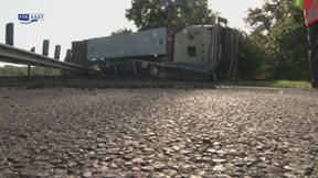 Ongeval op de N35 bij Wierden