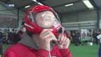 Record parachutespringen nog niet verbroken