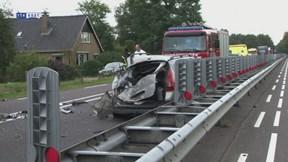 Ongeluk op N35 tussen Wierden en Nijverdal