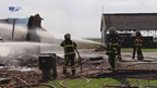 Uitslaande brand in Luttelgeest