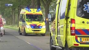 Motorrijder gewond bij ongeluk N377