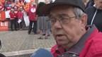 Protesten bij bezoek Van Rijn