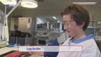 Scholieren leren snijden in MST Enschede