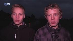 Jongens vonden de granaat in Bornse Beek