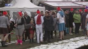 Ruim 20 deelnemers aan carnavalsdip Hengelo
