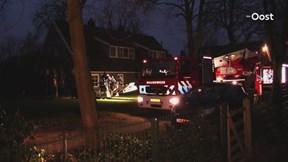 Schoorsteenbrand in Hengelo