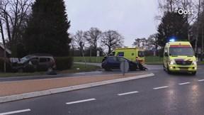 Ongeluk op Lossersestraat bij Enschede