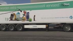 Vrachtwagenchauffeur Bonte strijdt voor parkeerplek LZV-truck