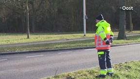 Verkeershinder in Zwolle
