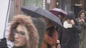 Protest studenten ArtEZ Enschede