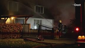 Uitslaande brand in Vroomshoop