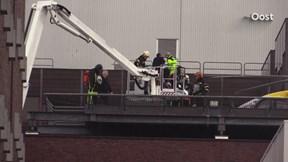 Brandweer assisteert traumahelikopter MST