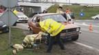 Ongeval op de Nieuwe Weg in Cellemuiden