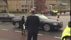 De aankomst van koning Willem-Alexander en koningin Máxima in Zwolle