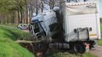 Ongeluk op de N736 bij Rossum