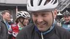 De fietsers met Ronald Mulder