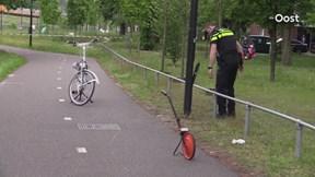 Botsing tussen fietser en bromfietser in Enschede