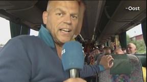 Vertrek bussen met fans Go Ahead Eagles