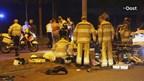 Twee motorrijders gewond bij botsing in Zwolle