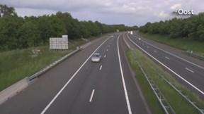 Supercars op de A1 in Twente