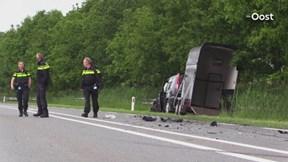 Ongeluk op N346 bij Markelo