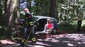 Ongeluk op Smalenbroeksweg in Enschede