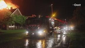 Woning verwoest door brand in Kallenkote