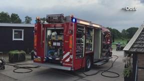Brand in gebouw Forelderij Enschede