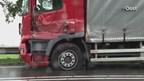 Vrachtwagens botsen op N35 bij Mariënheem