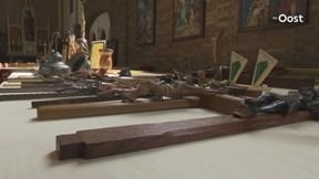 Videoreportage religieuze markt Heilige Nicolaaskerk Lettele