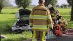 Automobilist rijdt tegen boom in Wilsum