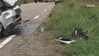 Gewonde bij ongeluk op parallelweg van N347