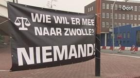 Massaal verzet tegen dreigende ontmanteling rechtbank in Almelo