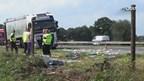 Ongeluk met twee vrachtwagens op A1
