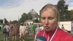 Bianca Roosenboom na haar tweede goud