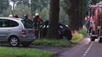 Auto op boom