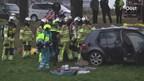 Ongeluk in buitengebied van Lutten