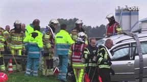 Reddingsactie na ongeluk in Hardenberg